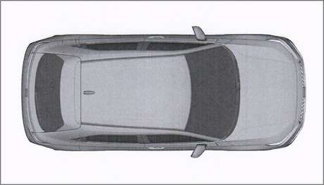 Nova geração do Honda HR-V em imagem quando visto de cima: um pouco maior do que o atual.