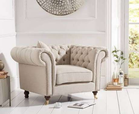 21. Poltrona chique chesterfield – Via: Only Oak Furniture