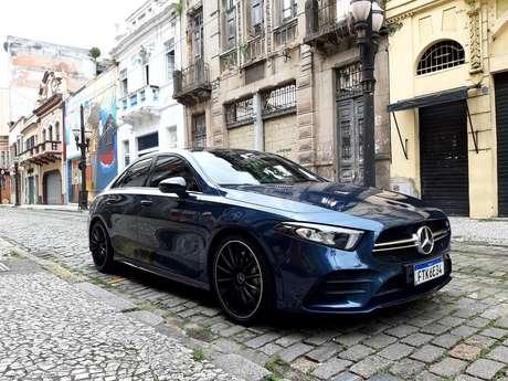 Mercedes-AMG A 35 Sedan 4Matic: porta de entrada para a alta performance.