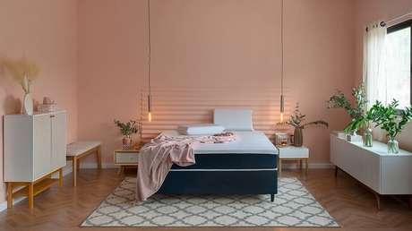 10. O estilo escandinavo é uma das tendências para quartos 2021 e perfeito para quem se identifica com uma decoração clean. Fonte: Pinterest