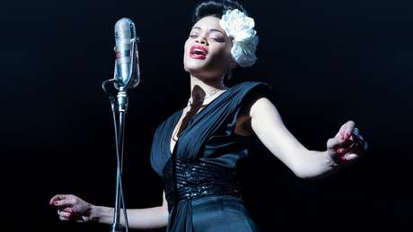 Andra Day em The United States vs. Billie Holiday