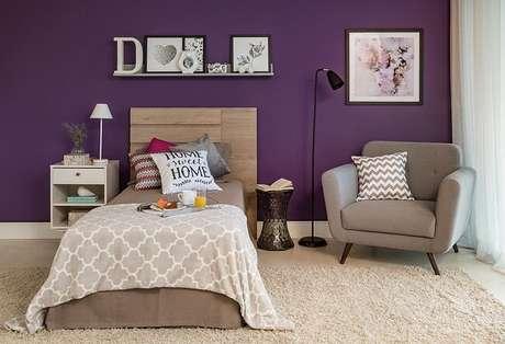 2. Tendências para quartos em 2021: inove na escolha da cabeceira da cama. Fonte: Pinterest