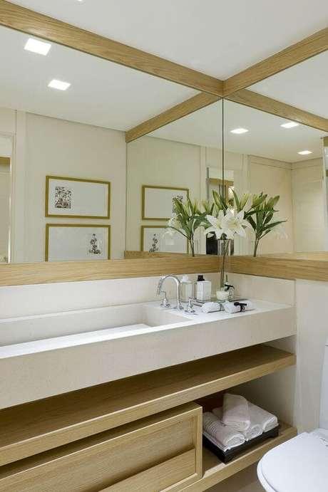 12. Decore seu banheiro com charme – Via: Pinterest