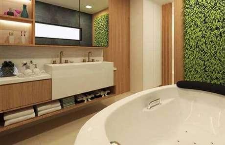 13. Banheiro com cuba dupla – Via: Pinterest