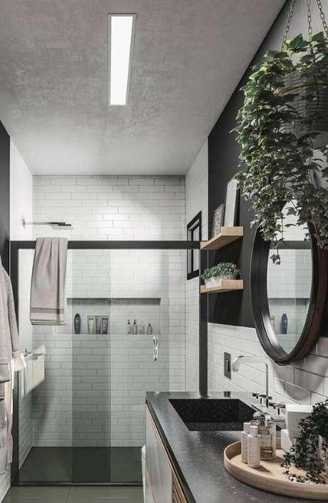 15. Banheiro moderno – Via: Pinterest