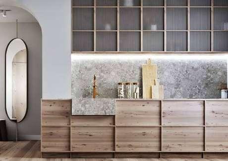 21. Cozinha com cuba de granito – Via: Pinterest