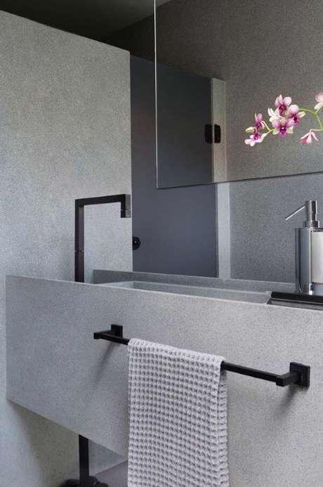 51. Cuba para banheiro estilo industrial – Via: Pinterest