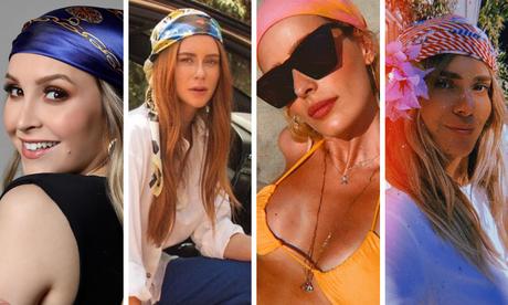 Lenços das famosas (Fotos: Instagram/Reprodução)