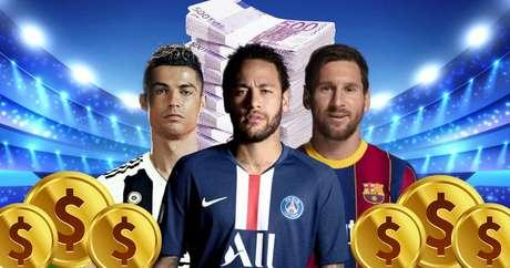 CR7, Neymar e Messi: ganhos com posts crescem a cada ano e influenciam milhões de consumidores on-line