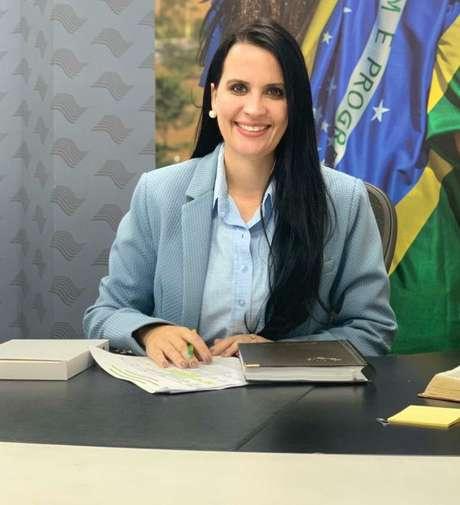 Deputada Letícia Aguiar (PSL)