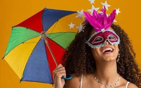 Mulher no carnaval