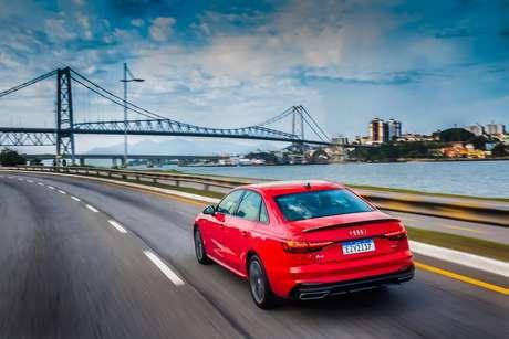 Audi A4 Sedan: sucessor do Audi 80 se tornou o modelo mais vendido da marca alemã.
