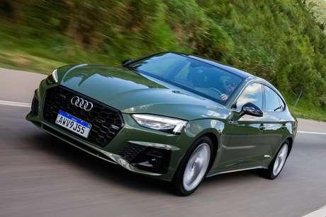Novo Audi A5 Sportback: duas versões a partir de R$ 285 mil.
