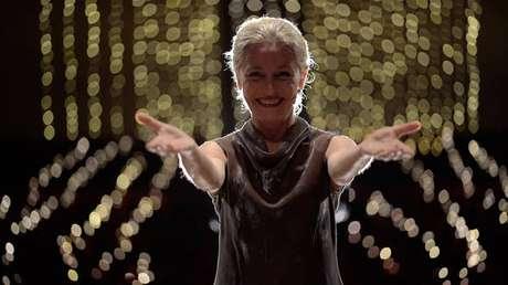 Atriz Lucilla Giagnoni leu cada canto da obra de Dante em uma produção para a internet