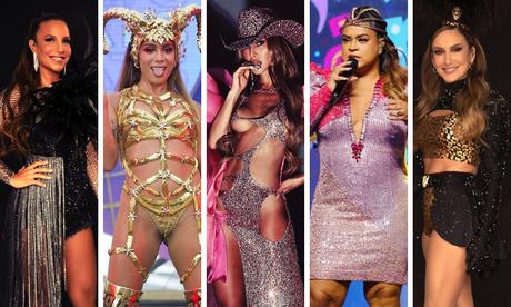 Famosas no Carnaval 2021 (Fotos: Reprodução/Instagram)