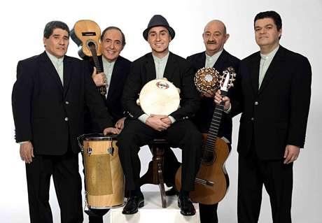 Grupo Demônios da Garoa, um dos mais longevos da música brasileira.