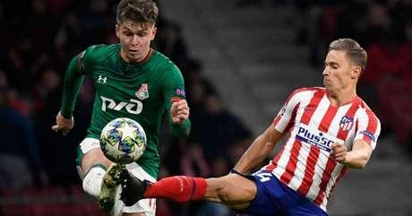 Marcos Llorente faz melhor temporada da carreira com o Atlético de Madrid (Foto: AFP)