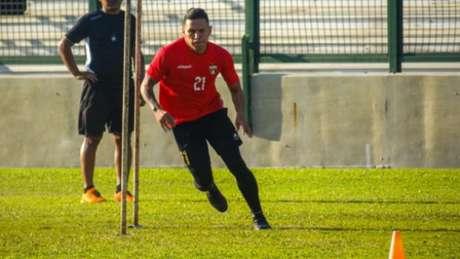 Barrios é uma das novidades (Divulgação Deportivo Lara)