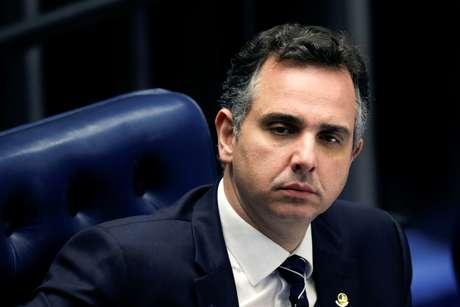 Pacheco participa de sessão no Senado 11/2/2021 REUTERS/Adriano Machado