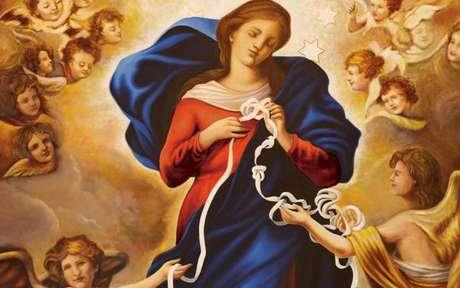 Prece à Nossa Senhora Desatadora dos Nós -