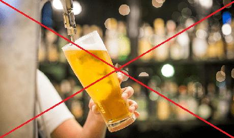 Álcool também prejudica rendimento dos esportistas