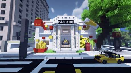 Méqui 1000 em Minecraft