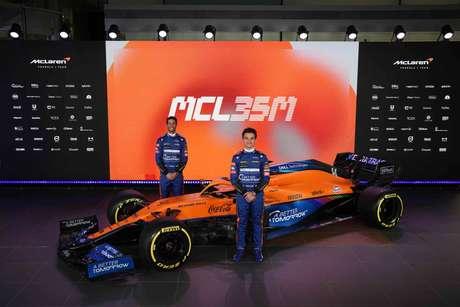 Andreas Seidl, chefe da McLaren, não quer ordenar Ricciardo e Norris em pilotos número 1 e 2