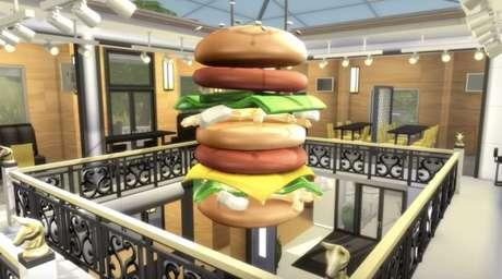 Méqui 1000 em The Sims 4