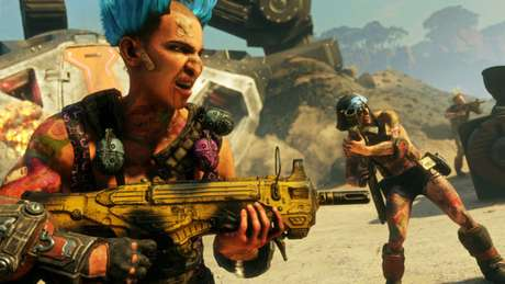 Rage 2 é um dos jogos de graça na Epic Games Store