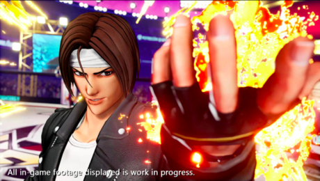 The King of Fighters 15 tem Kyo Kusanagi no elenco