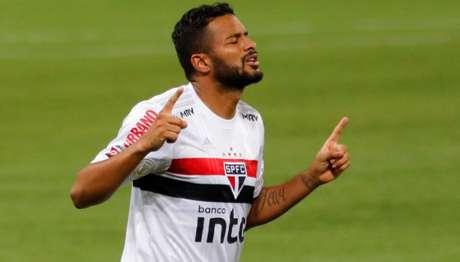 Reinaldo marcou um dos gols da vitória por 2 a 0 contra o Palmeiras no Brasileirão (Foto: Ricardo Duarte/Lancepress!)