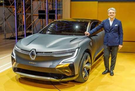 Luca de Meo, CEO mundial da Renault: aposta em carros baratos não vingou no Brasil.
