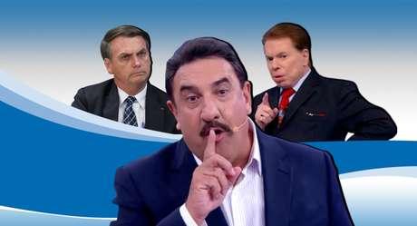 Ratinho puxa o tapete de Bolsonaro e pode desagradar a Silvio Santos ao fazer alusão a um golpe militar no País