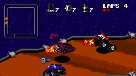 Rock N' Roll Racing chega aos consoles mais novos