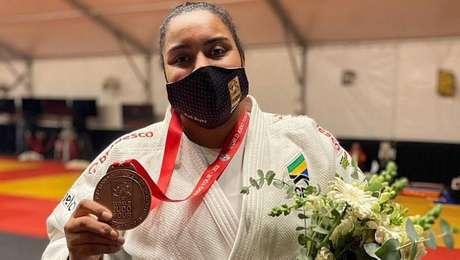 Maria Suelen Altheman ficou com o bronze em Israel