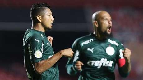 Felipe Melo fez revelação sobre o árbitro após o empate no clássico (Foto: Maga Jr/Ofotografico)