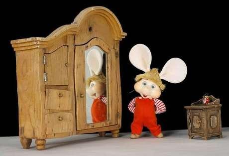 'Topo Gigio' é um dos personagens de maior sucesso na TV italiana