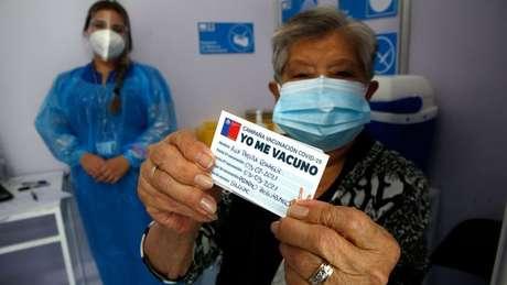 A campanha de imunização no Chile é gratuita e voluntária