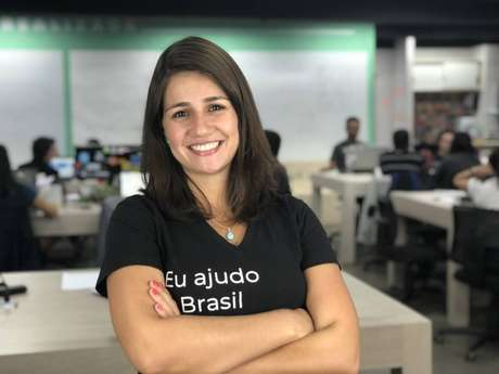 Mariana Dias, presidente da startup Gupy, elogia o clima de descontração e informalidade do Clubhouse