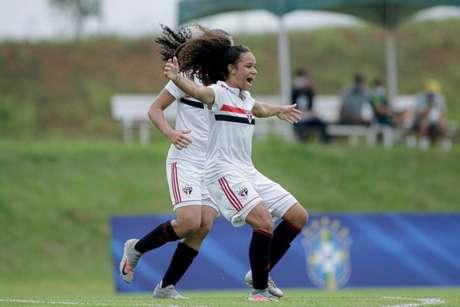 São Paulo encara o Internacional no Brasileiro Feminino Sub-18 (Foto:  Adriano Fontes/CBF)