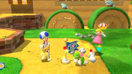 Super Mario 3D World tem multiplayer online