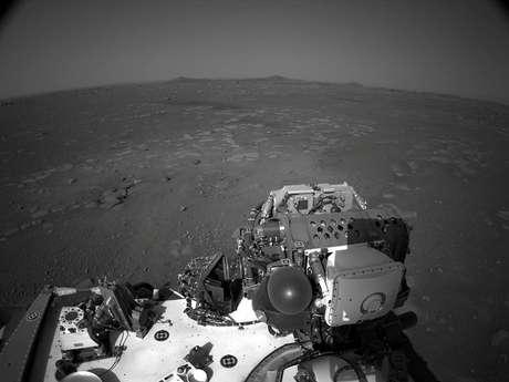 Imagens de Marte captadas pelo robô Perseverance