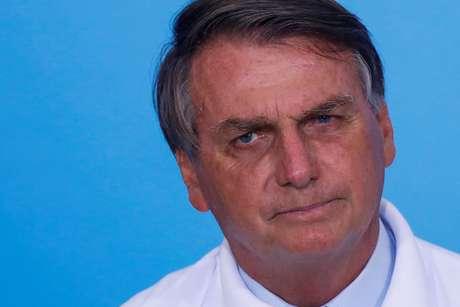 Presidente Jair Bolsonaro no Palácio do Planalto 12/01/2021 REUTERS/Adriano Machado