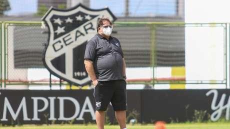 Guto, que renovou recentemente com o Ceará, entrou no Radar do Galo com a saída de Sampaoli-(Foto: Felipe Santos/Divulgação/Ceará)