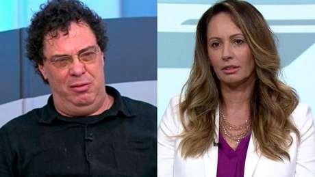 Casagrande, sobre Ana Paula: 'Uma ex-atleta que enquanto jogou nunca abriu a boca para nada, jamais mostrou ter personalidade para falar de política'(Foto: Reprodução/SporTV)