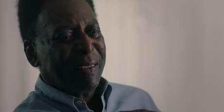 Pelé relembra a carreira em documentário da Netflix