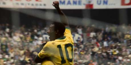 Copa do Mundo de 1970 foi a grande coroação de Pelé