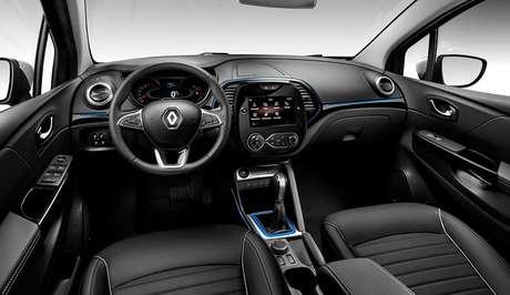 Por dentro, novo Captur 1.3 turbo terá novo volante e materiais soft touch para ficar acima do Renault Duster.