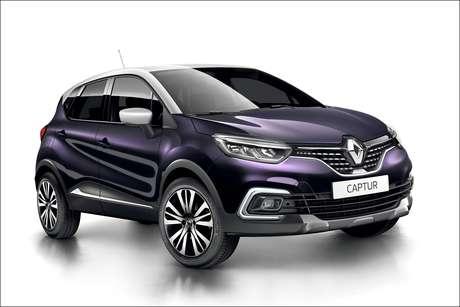 Visual do Renault Captur reestilizado foi baseado no Captur Initiale Paris, exibido na França.