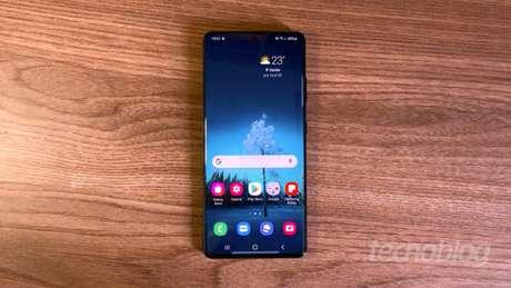 Samsung Galaxy S21 Ultra com One UI 3.1